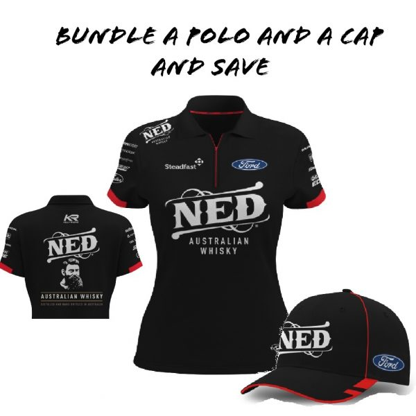 Ladies Ned Polo and Cap
