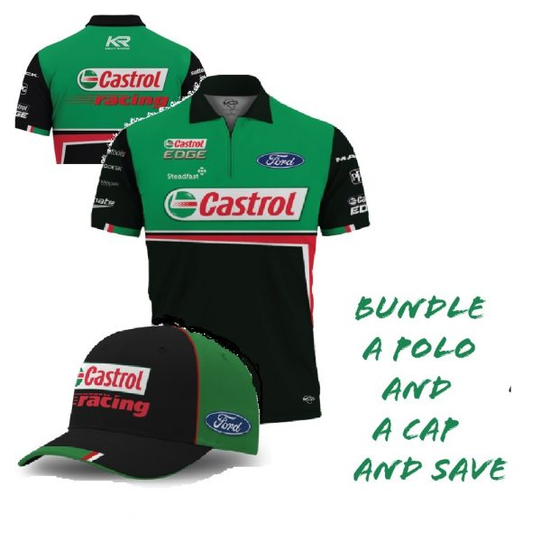 Mens Castrol Team Polo